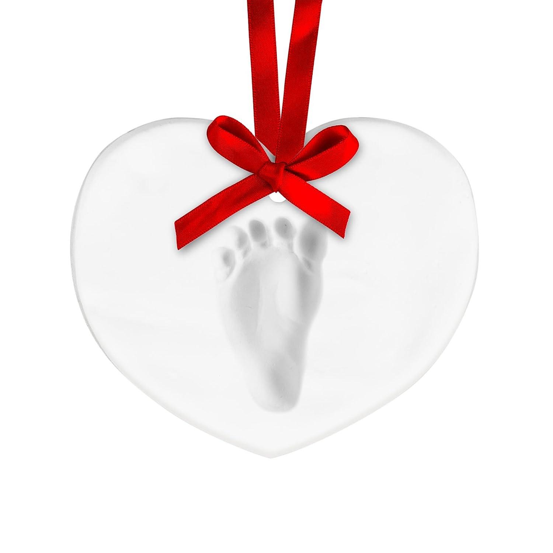 Tiny Ideas Baby's Handprint Ornament, Star 96157