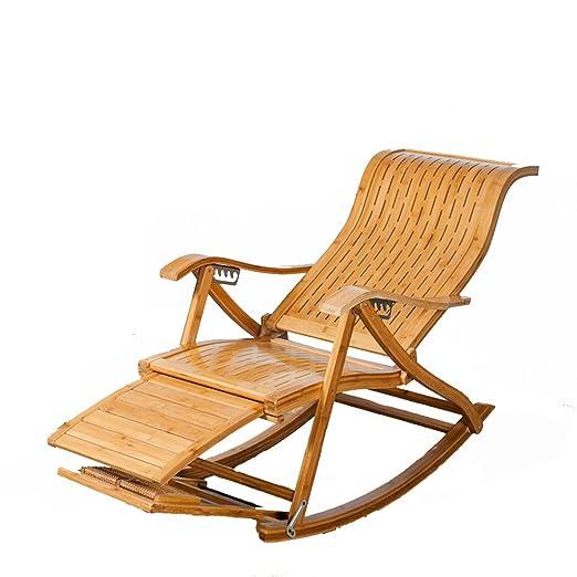 GWW Sillas mecedoras, Portátiles Plegables sillas de Patio ...
