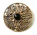 Vintage brooches Bronze Norse Filigree