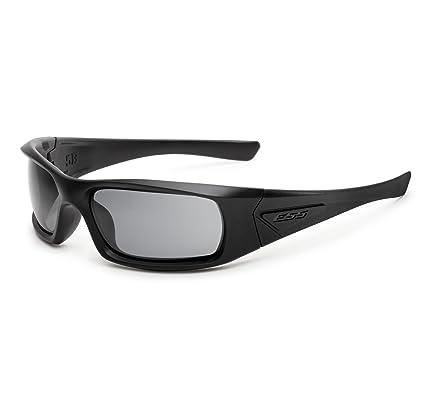 64d34a550514 Amazon.com: ESS 5B High-Impact Sunglasses Smoke Gray Lens EE9006-06 ...