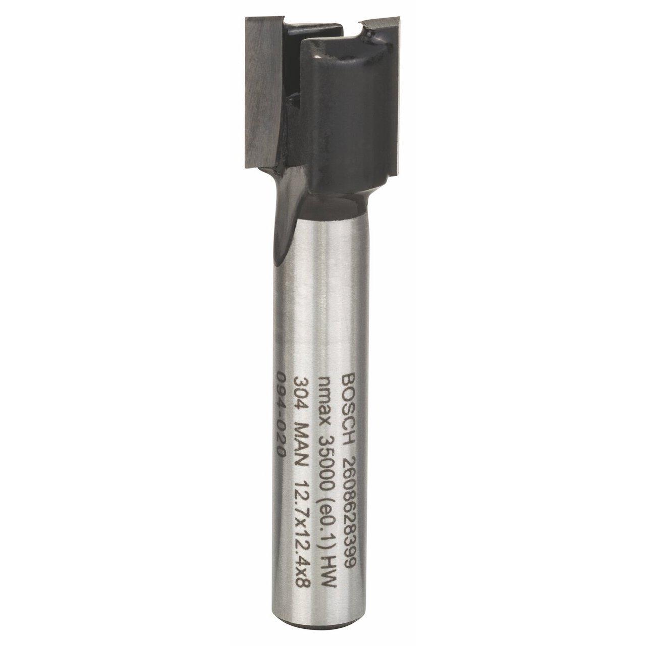 Bosch Zubehö r 2 608 628 390 Nutfrä ser 8 mm, D1 20 mm, L 25 mm, G 56 mm 2608628390