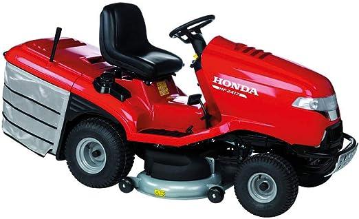 Tractor cortacésped Honda HF 2417 HM, motor de gasolina de 2 cilindros, ancho de corte 102