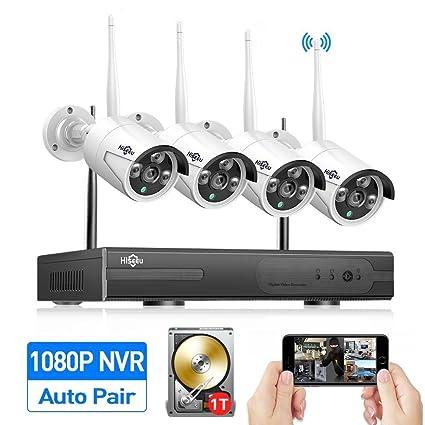 Review HisEEu 4CH 1080P Wireless
