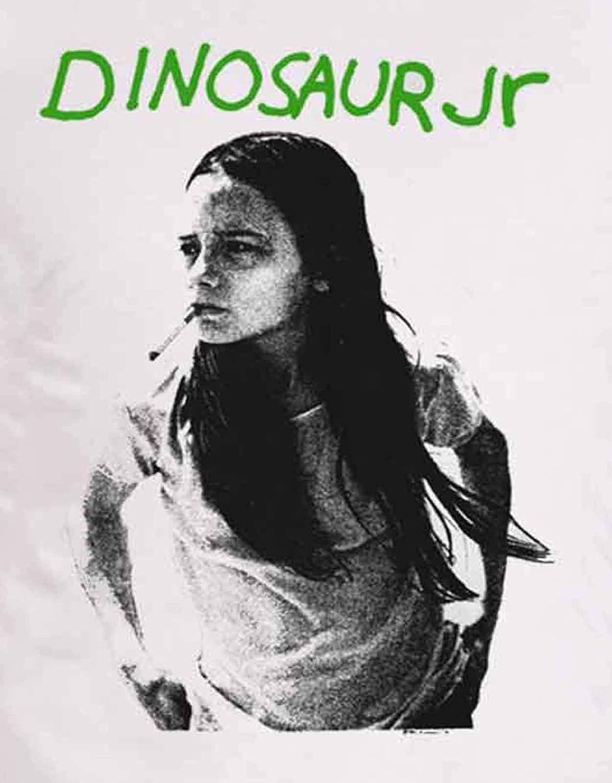 Dinosaur Jr T Shirt Vert Mind Band Album Band Logo Nouveau Officiel Homme