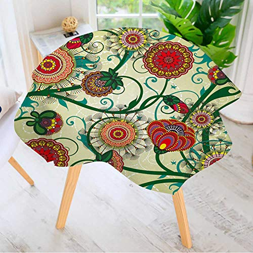 Leighhome Table Decoration Durable- Beautiful Floral Vintage
