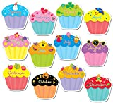 preschool birthday chart - Creative Teaching Press 10-Inch Jumbo Designer Cut-Outs, Cupcakes (5938)