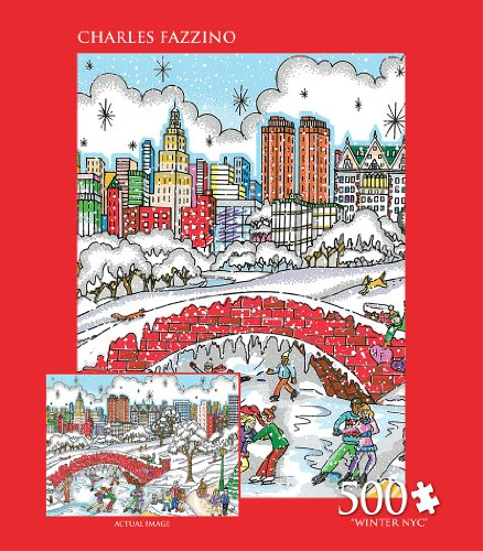 Andrews + Blaine Winter NYC Puzzle (500-Piece)