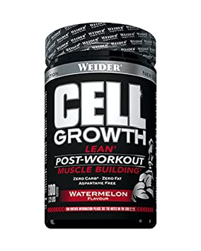 Weider Cell Growth Watermelon Proteínas - 600 gr: Amazon.es: Salud y cuidado personal