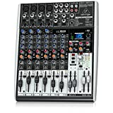 Behringer X1204USB XENYX Premium 12-Input Mixer and Audio Interface