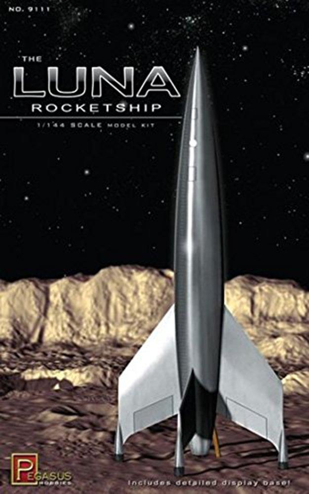Pegasus Hobbies Luna Rocketship 1/144th Scale #9111 PG9111