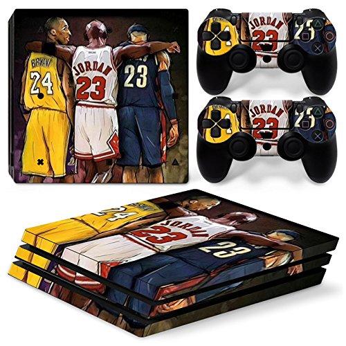 Nba Skin (GoldenDeal PS4 Pro Console and DualShock 4 Controller Skin Set - Basketball NBA - PlayStation 4 Pro Vinyl)