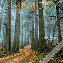Simplicity 2018 12 x 12 Inch Monthly Square Wall Calendar