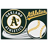 "MLB Oakland Athletics Tufted Rug, 20"" x 30"""
