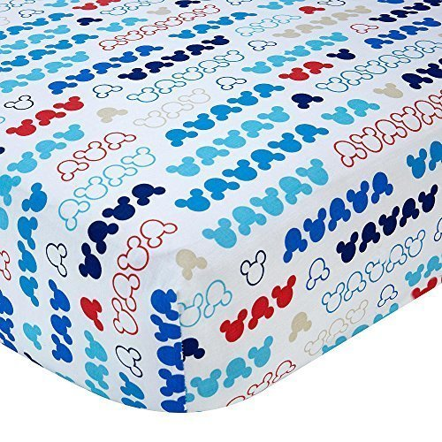 Disney Baby - Mickey Mouse - My Pal Crib Sheet (Mickey Mouse Crib Sheets compare prices)