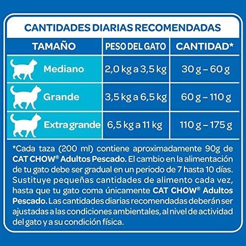 Cat Chow Purina Comida para Gato Adulto Pescado 3Kg 6