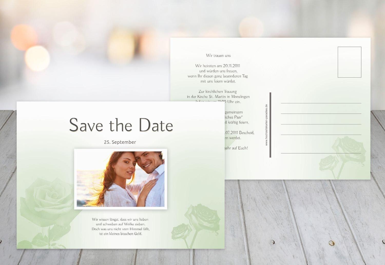 Kartenparadies Hochzeitskarte Save-the-Date Rosa, hochwertige Save the Date Karte zur Hochzeit   30 Karten - (Format  148x105 mm) Farbe  HellRosa B01N363LAM   Üppiges Design    ein guter Ruf in der Welt    Garantiere Qualität und Quantität
