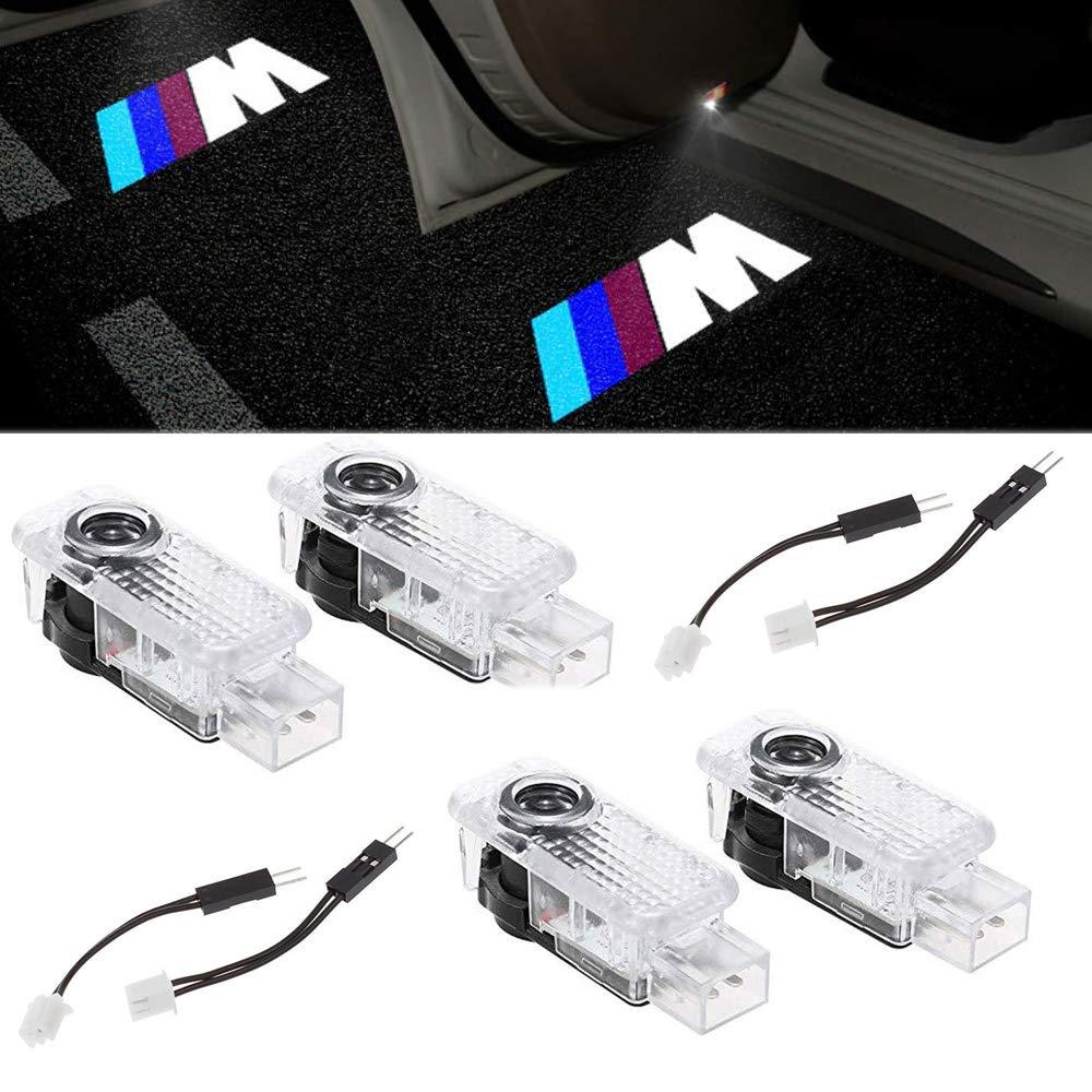 Ghost Shadow Proyector 4 X LED Coche proyector puerta logotipo de la sombra de luz L/ámparas de bienvenida de cortes/ía Luces