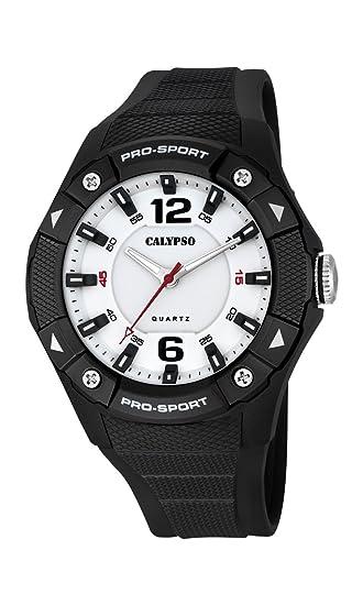 Calypso Watches Reloj Analógico para Hombre de Cuarzo con Correa en Caucho K5676_8