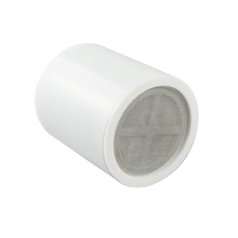 Filtro de ducha universal de alta eficiencia purificador de agua con cartucho reemplazable blanco Aquatrend