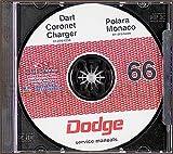 1966 Dodge CD Repair Shop Manual for all models