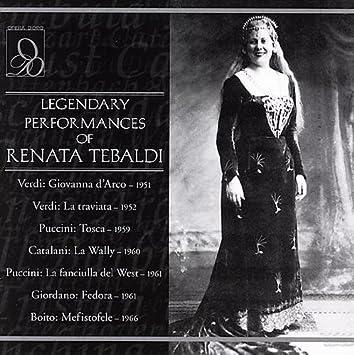 Renata Tebaldi - Legendary Performances of Renata Tebaldi - Amazon.com Music
