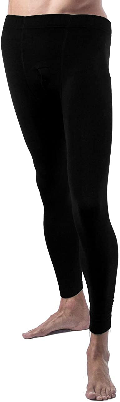 Mens Warm Fleece Fur Lined Black Winter Thick Stretch Thermal Dress Pants