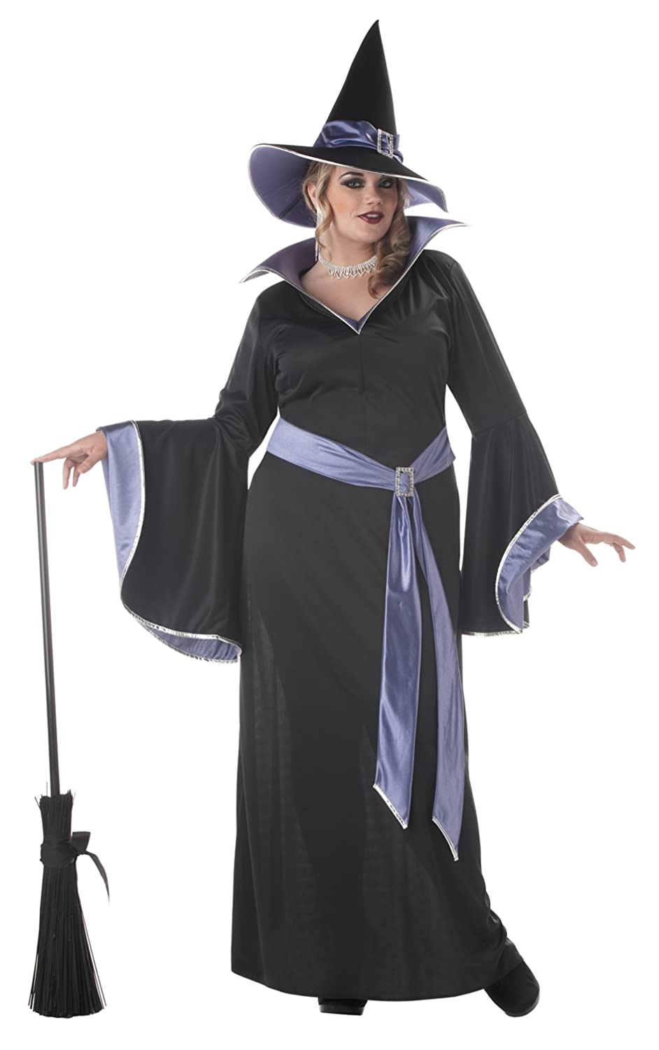 amazoncom california costumes womens plus size incantasia glamour witch costume clothing