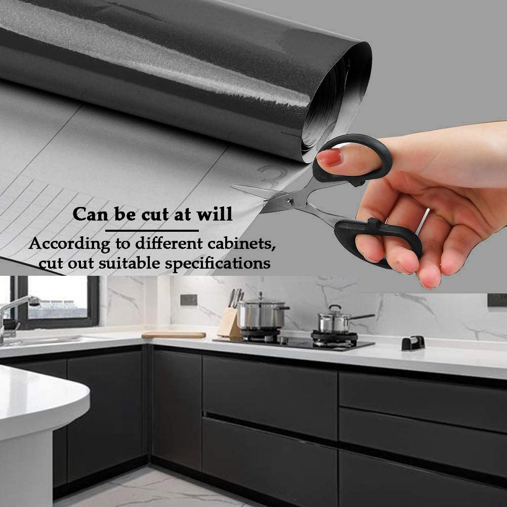 N \ A THETHO Papel Pintado Autoadhesivo Blanco Papel Adhesivo Impermeable 40x300cm Vinilos para Muebles Cocina Pared Paed Armario Ba/ño