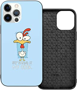 Huge Cock Funny Offensive Chicken Man's Womans Personalized Custom Phone Case Protective case Suitable for iPhone 12 and iPhone 12 Pro