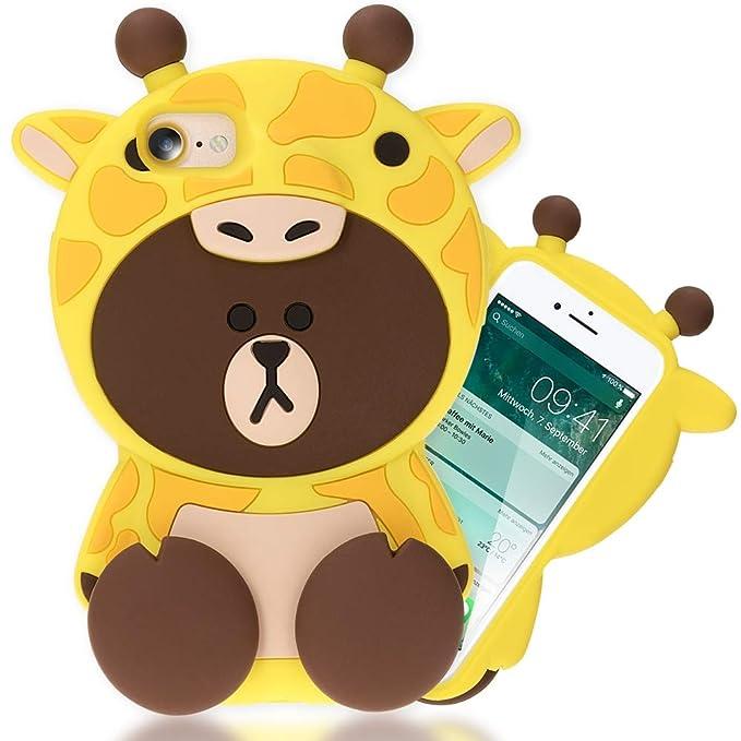 2 opinioni per NALIA 3D Cover compatibile con iPhone 8/7, Custodia Protezione Ultra-Slim