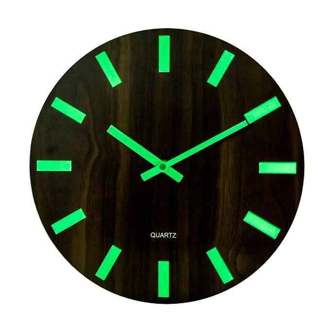 Reloj luminoso neón para decoración de oficina
