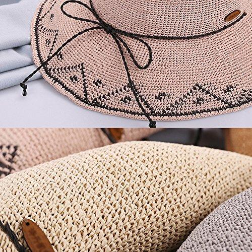 Sombreros Pink Opcionales Transpirable Colores Para Ancha Manual Lana De Sudadera Con Capucha 5 Gorra Viaje Mujeres Ala r6ZqrUaw