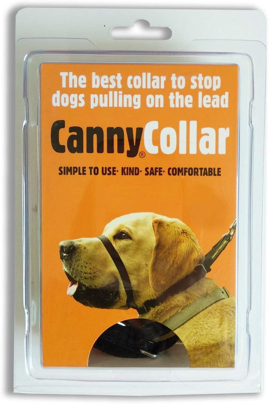 Canny collar Collar Antitirones, Talla 2, Negro