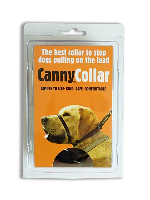 Canny Collar, Collar Antitirones, Talla 2, Negro: Amazon.es ...