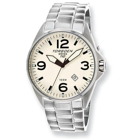 6fd4d3452cd Torgoen T10 Pilot Watch - T10206  Amazon.ca  Watches