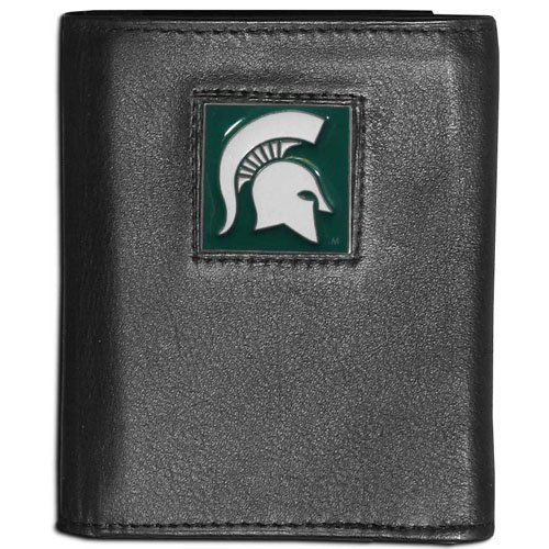 NCAA Michigan State Spartans Leather Tri-Fold Wallet