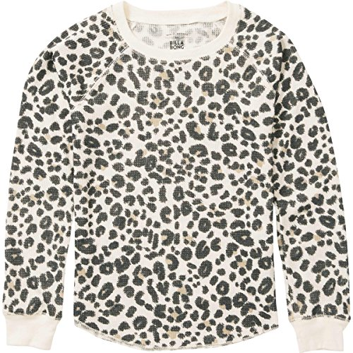Billabong Cheetah - Billabong Girls' Girl's Lazy Dayz Thermal Set Cheetah Medium