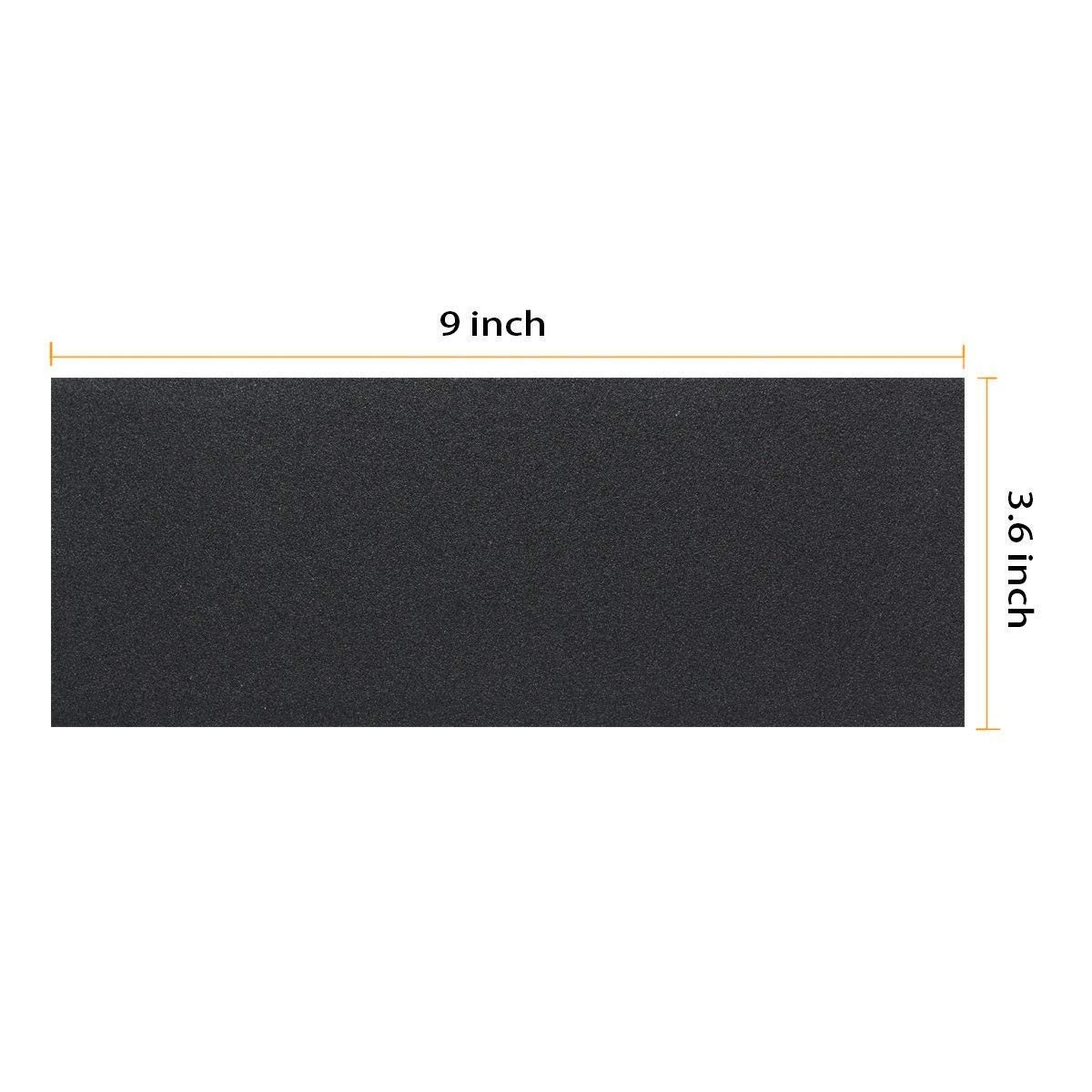 Sandpaper 120 To 3000 Grit Dry Wet Sandpaper for wood 9 x 3.6 Inches, Metal Sanding and Automotive Polishing Wood Furniture Finishing, Dry or Wet Sanding,42-Sheet