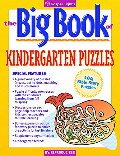 The Big Book of Kindergarten Puzzles #1 (Big Books)