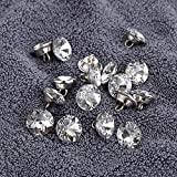 OwnMy 50 PCS 16mm Rhinestone Crystal Buttons