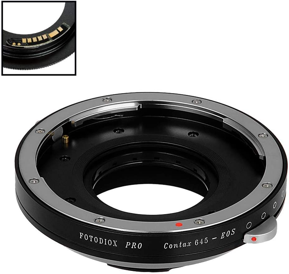 Fotodiox Pro Lens Mount Adapter Compatible With Contax Kamera