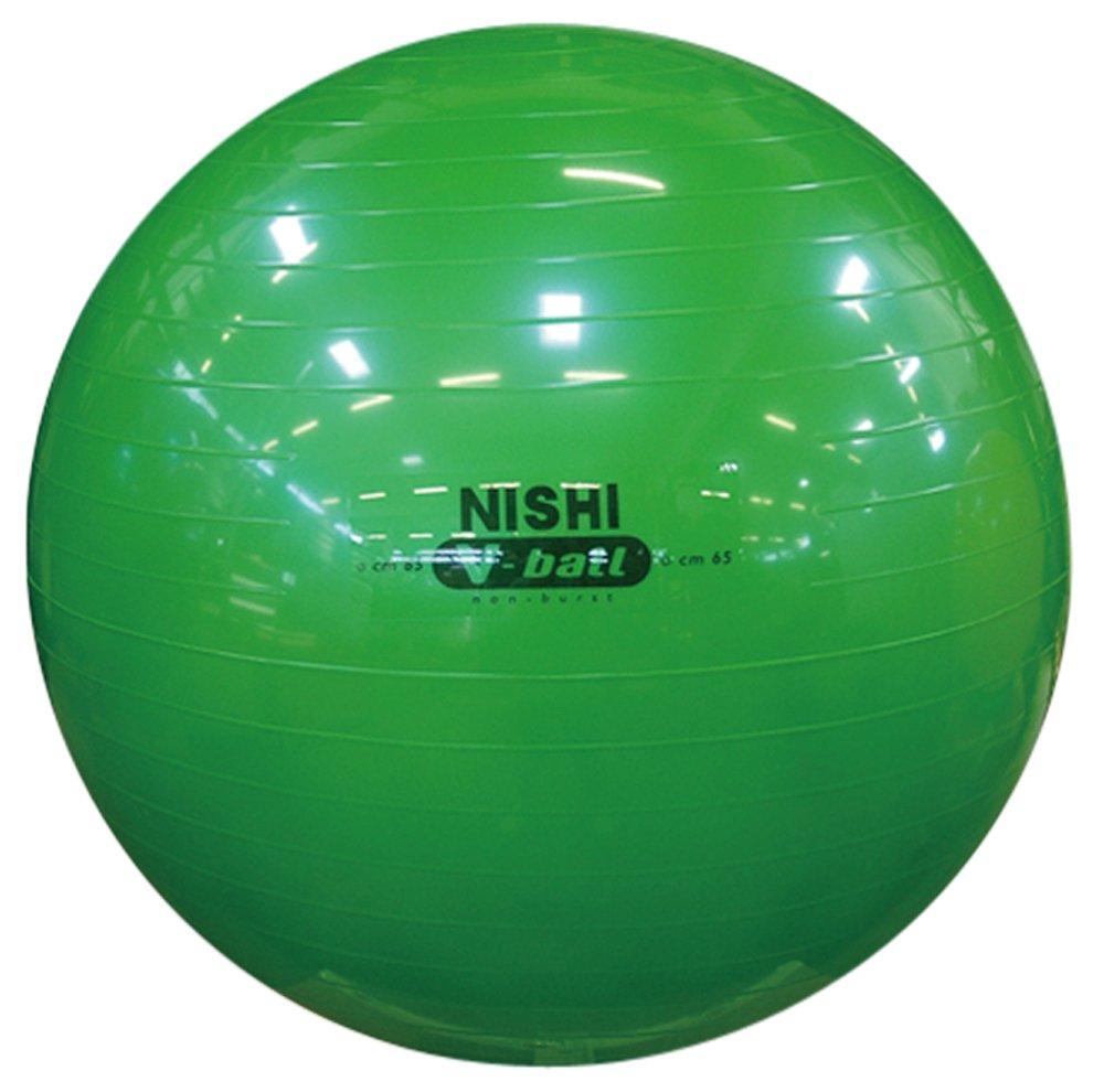 超格安価格 NISHI(ニシスポーツ) バランスボール ノンバーストVボール B00GD9HAIW B00GD9HAIW 直径:65cm(メタリックグリーン), アクアofサイエンス:4e80b7b6 --- arianechie.dominiotemporario.com