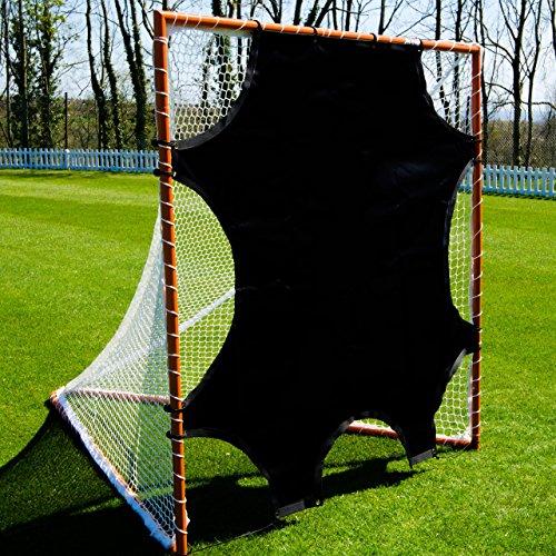 Goal Blocker - Lacrosse Goal Target Sheet [6ft x 6ft] – 7 Hole Goal Target [NET WORLD SPORTS]