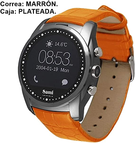 Reloj smartwatch Sami Wearable Round WS-2306: Amazon.es: Electrónica