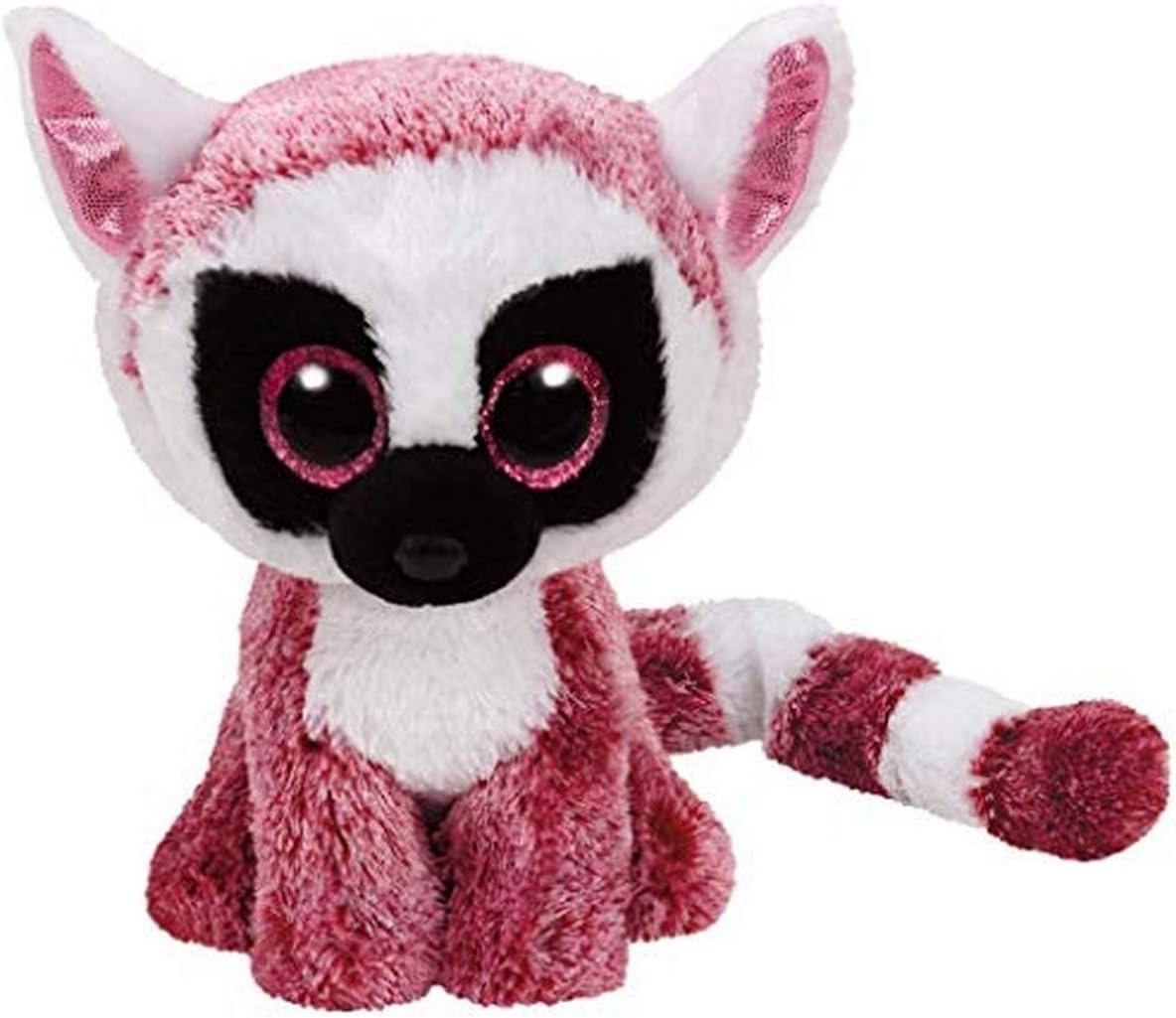 TY- Lemur Peluche, juguete, Color rosa, 15 cm (United Labels Ibérica 37225TY) , color/modelo surtido: Amazon.es: Juguetes y juegos