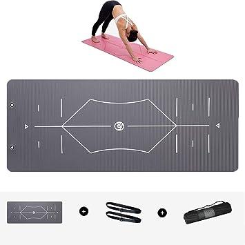 Amazon.com : Non Slip Yoga Mat Beginner 15mm Ultra Thick Nbr ...