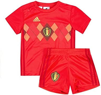 adidas - Camiseta de la selección de Bélgica para niños: Amazon.es: Ropa y accesorios