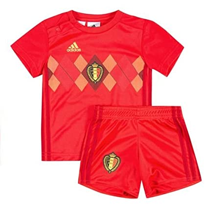 89e688e9f Image Unavailable. Image not available for. Color  adidas 2018-2019 Belgium  Home Baby Kit