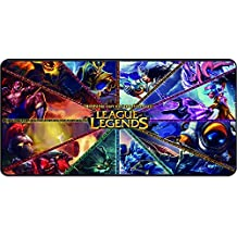 Variety Choice League of Legends Mousepad for Gaming Large Size 23.5x11.5x0.12 Inch Sealed (14)
