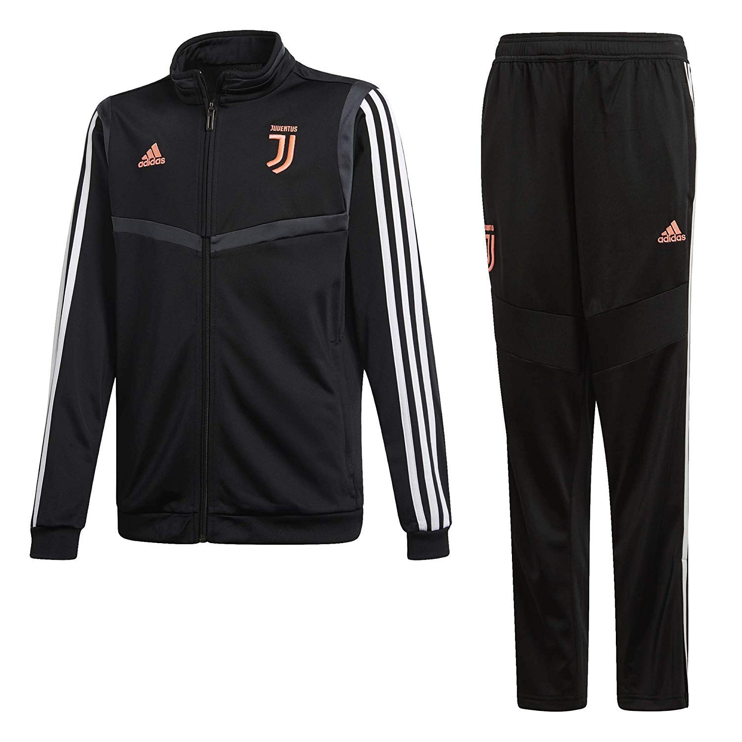 adidas 19/20 Juventus Polyester Suit Youth Suits, Unisex niños ...